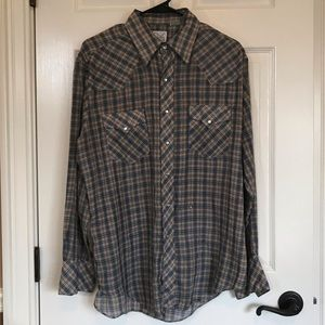Canyon Trails Plaid Flannel, Really Soft